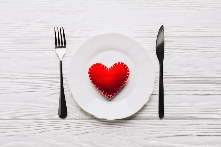 Menú San Valentín 10-02-2018