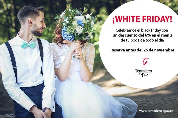 Cásate con el White Friday en nuestra finca para bodas en Valencia